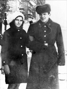 Юрий Пушик с моей сестрой Лидией