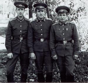 Четвертков, Ковалев и Толя Бычков