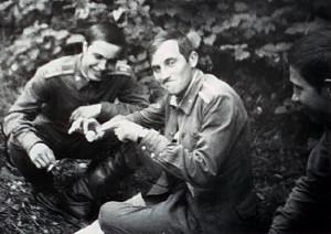 Леша Богачев и Миша ковалев