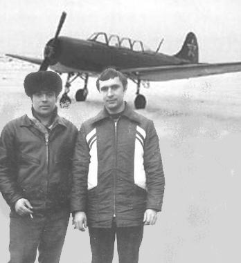 Борис Полянецкий и Геннадий Чепус