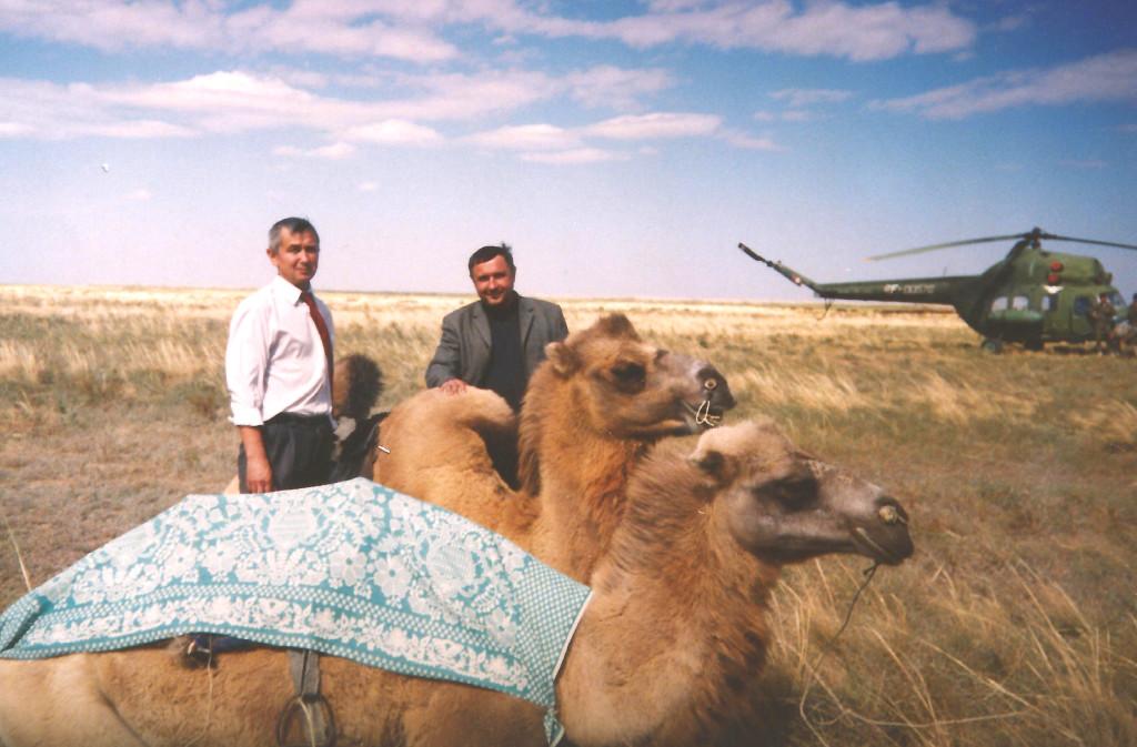 Гареев, Чепус и два верблюда. Вертолет не в счет