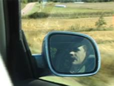 Это Лешка в зеркале